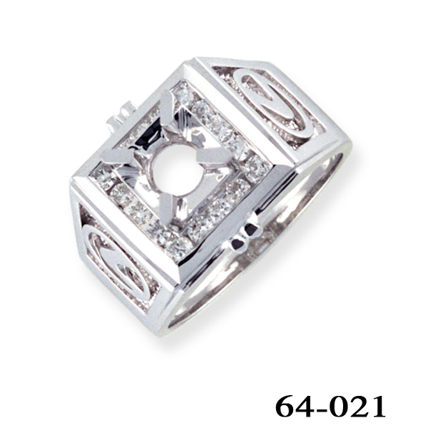 Kim Phat diamond men ring