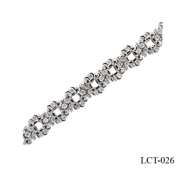 Lam's diamond engagement bracelet