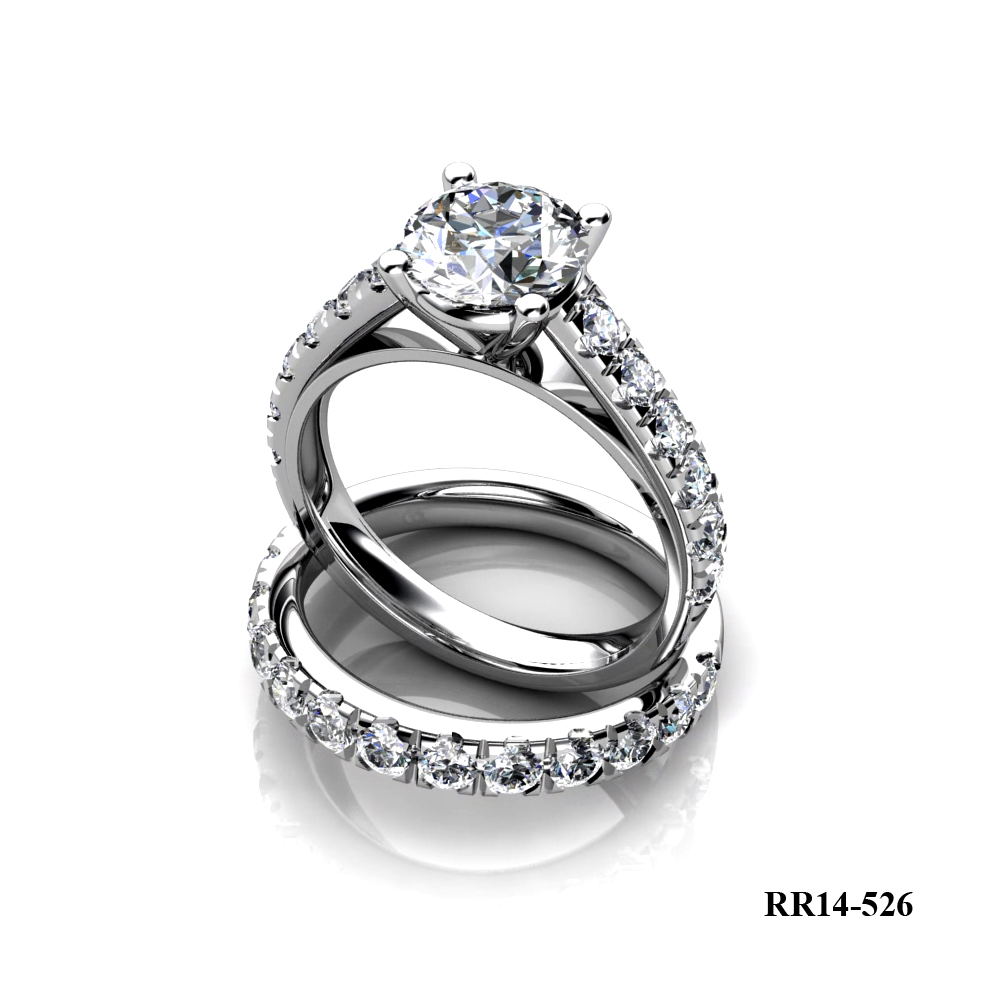 KP diamond engagement ring
