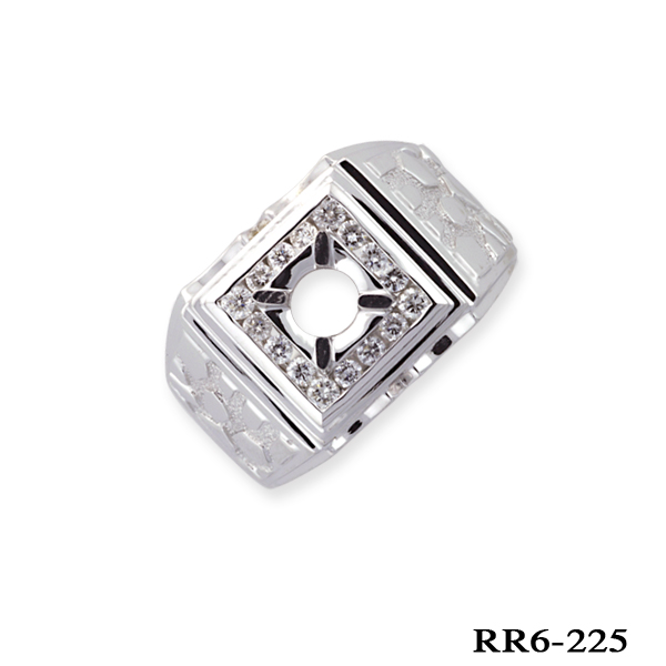 KP diamond ring for men