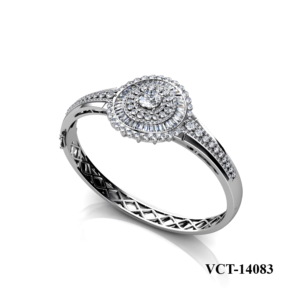 Lam's diamond engagement bangle