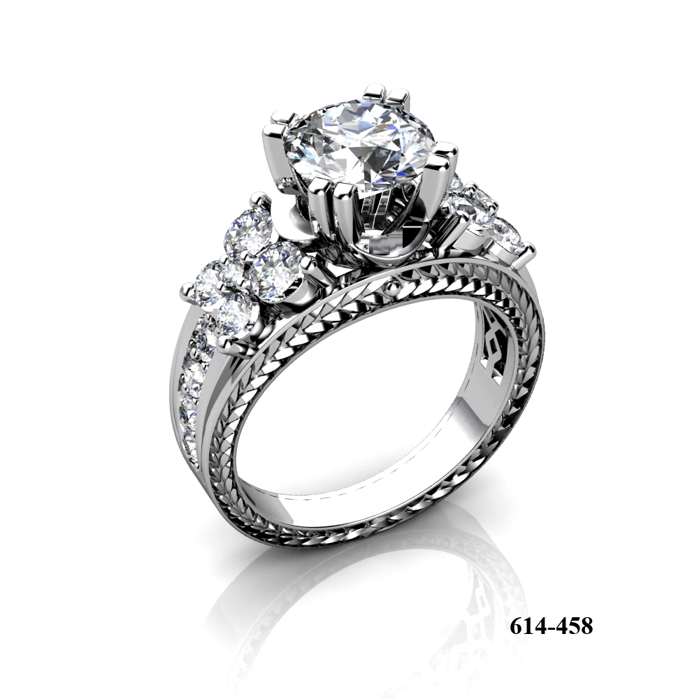 Kim Phat diamond engagement ring