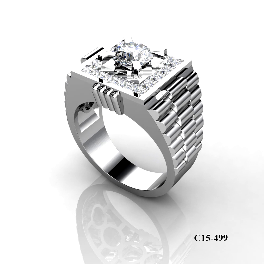 Kim Phuoc diamond ring for men