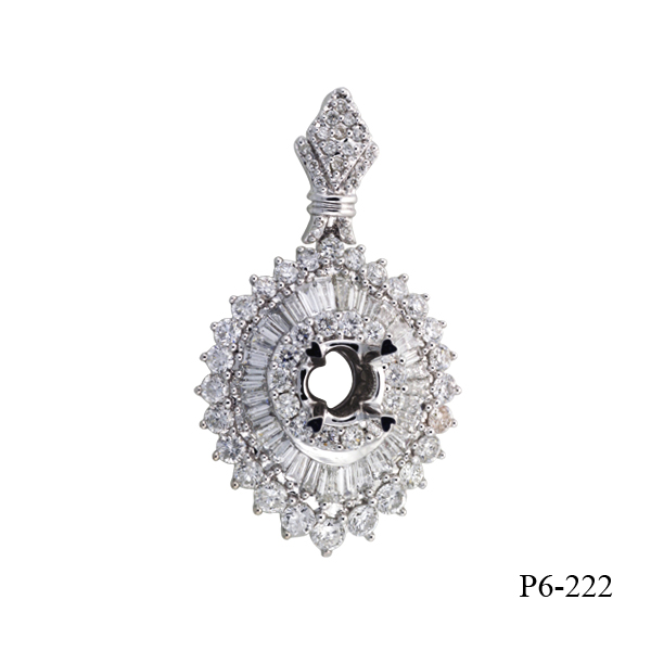 Kim Phuoc diamond engagement pendant
